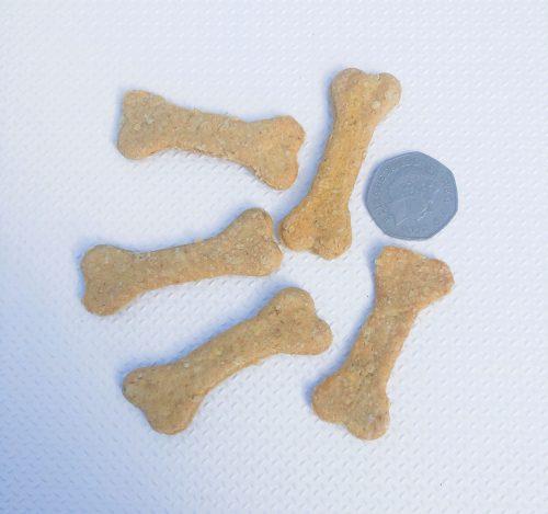homemade dog treats, peanut bones